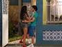 Pai de Luciana atrapalha namoro com Luan de propósito