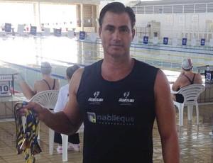 Mauri Rosolen, primeira etapa do Brasileiro Masters, nadador prudentino (Foto: Mauri Rosolen / Cedida)
