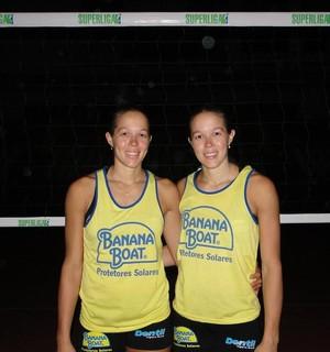 Monique e Michelle Pavão (Foto: Fabio Leme)