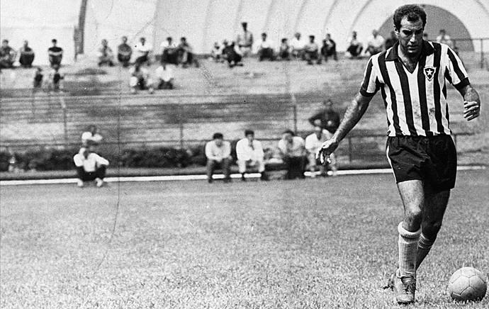 Gerson, Botafogo e São Paulo 1968 (Foto: Arquivo / AGência Estado)