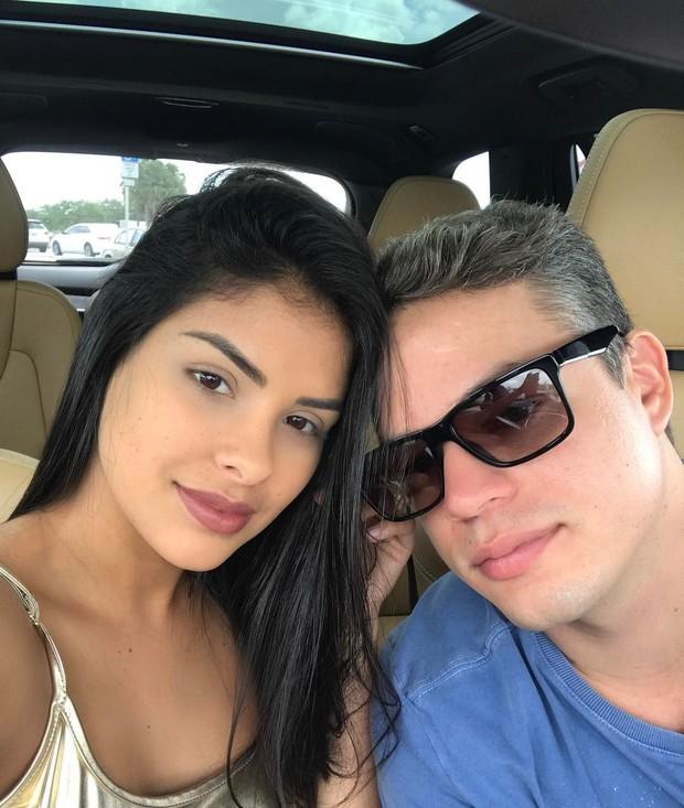 Munik Nunes e Anderson Felício (Foto: Instagram / Reprodução)