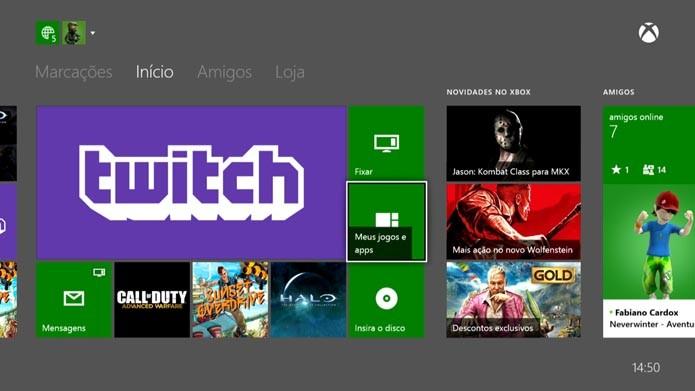 Xbox One: como enviar mensagens de voz para outros jogadores (Foto: Reprodução/Murilo Molina)
