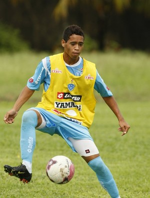 Pikachu vem se tornando um dos principais jogadores do Paysandu (Foto: Marcelo Seabra/O Liberal)
