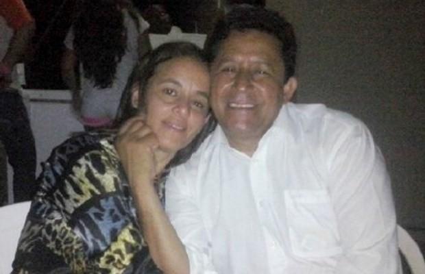 Prefeito Daniel Antônio de Souza e a mulher são encontrados mortos em chácara, em Matrinchã, Goiás (Foto: Reprodução/ TV Anhanguera)