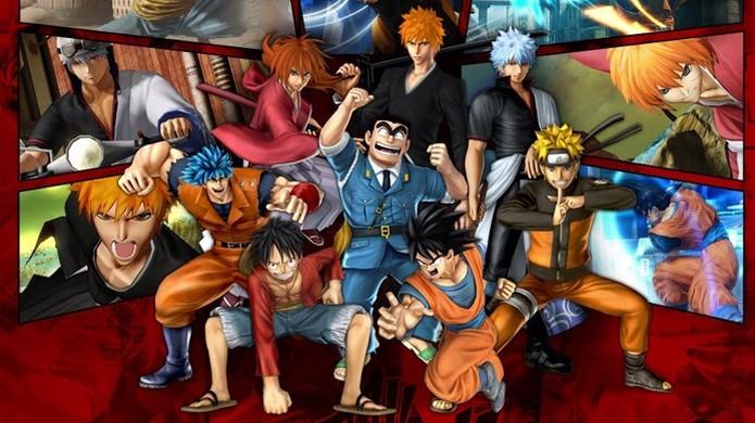 J-Stars Victory VS+ reúne Goku, Luffy, Naruto, Seiya e muitos personagens mais (Foto: Reprodução/Anime Amino) (Foto: J-Stars Victory VS+ reúne Goku, Luffy, Naruto, Seiya e muitos personagens mais (Foto: Reprodução/Anime Amino))