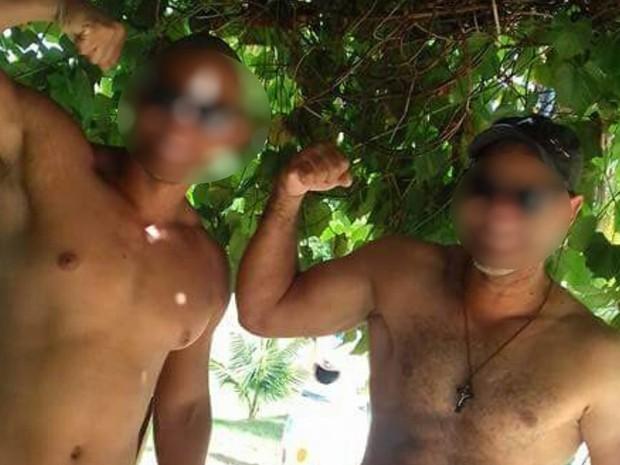 Padrasto e personal trainer são presos suspeitos de abusar sexualmente de adolescente em Calda Novas, Goiás (Foto: Divulgação/Polícia Civil)