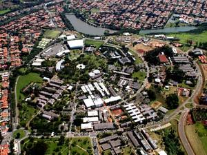 Campus da Universidade Estadual de Campinas (Unicamp) em Barão Geraldo (Foto: Antoninho Perri/Ascom Unicamp)
