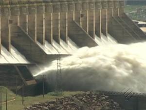 Usina Hidrelétrica de Tucuruí (Foto: Reprodução/TV Liberal)