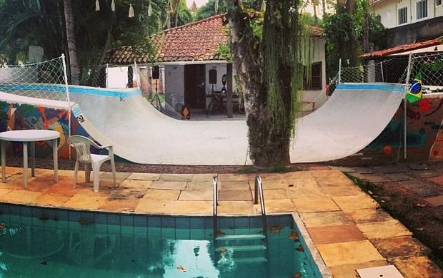 Pista Bob Burnquist Rio de Janeiro (Foto: Reprodução / Instagram)