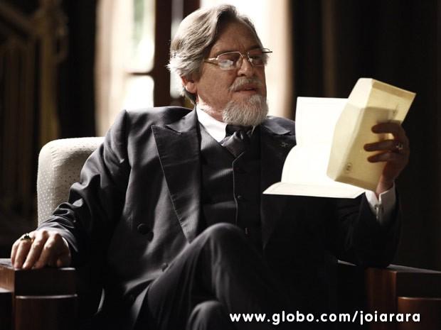 José de Abreu vai viver o vilão Ernest em Joia Rara (Foto: Joia Rara / Tv Globo)