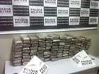 Polícia Militar apreende 100 quilos de maconha em Ipatinga, MG