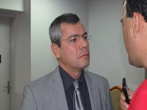Vereador Iran Barbosa (PT) (Foto: Tássio Andrade/G1)