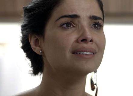 Tóia se desespera com decisão de Juliano