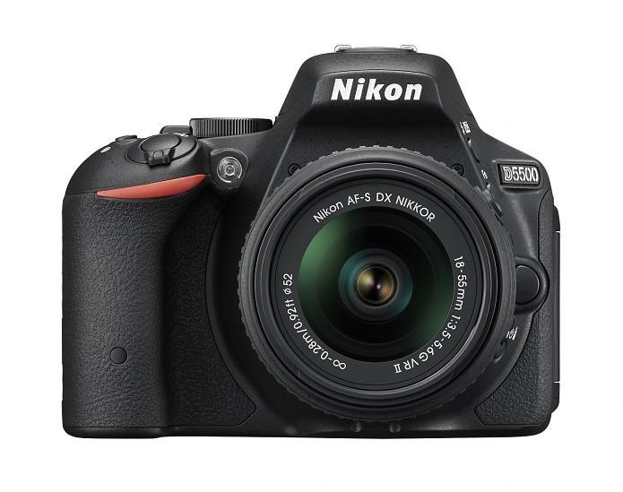 D5500 tem NFC e Wi-Fi embutidos (Foto: Divulgação/Nikon)