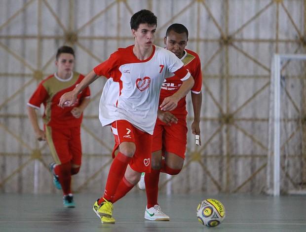 Marcel Marques futsal Colégio Amorim nas Olimpíadas Escolares (Foto: Andre Mourao/AGIF/COB)