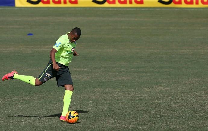 robinho treino brasil  (Foto: Mowa Press)