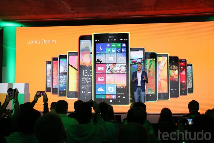 Microsoft MoreLumia Lumia Denim (Foto: Fabrício Vitorino/TechTudo)