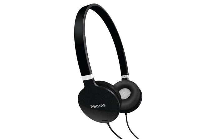Fone de ouvido estéreo SHL1700 tem conchas almofadadas (Foto: Divulgação/Philips)
