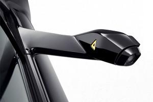 Retrovisor externo do conceito BMW i8 Mirrorless (Foto: Divulgação)