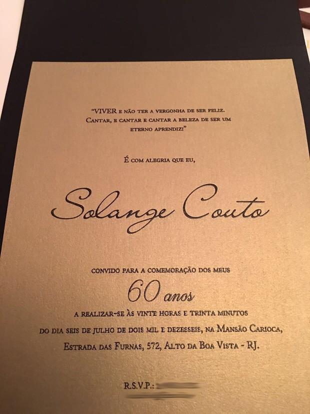 Solange Couto  (Foto: Divulgação)