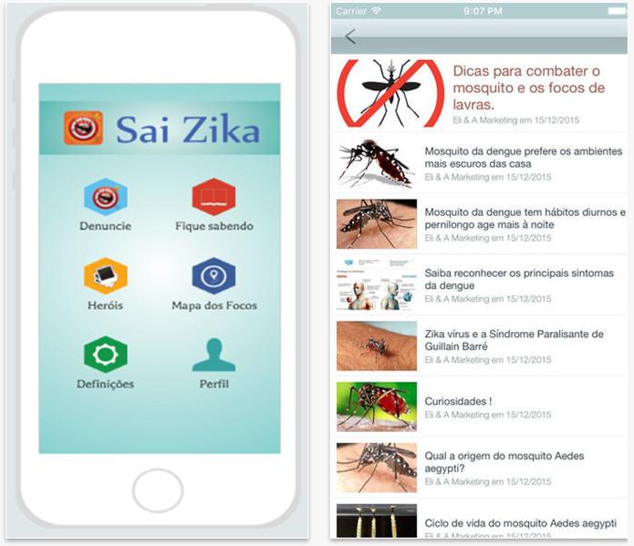 Este aplicativo tem notícias sobre essas três principais doenças (Foto: Divulgação/Google Play)