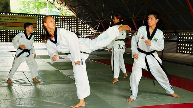 seleção amazonense de taekwondo 1 (Foto: Michael Dantas/Sejel)
