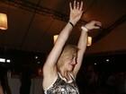 Danielle Hypólito exibe depilação vencida em show no Rio