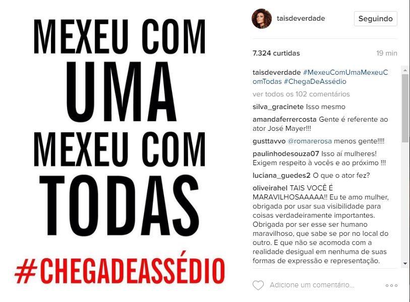 Taís Araújo (Foto: Reprodução/ Instagram)