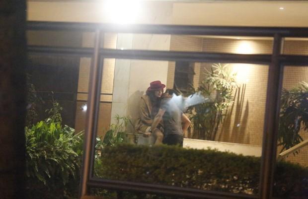 Maria Casadevall e Renato Góes (Foto: AgNews)