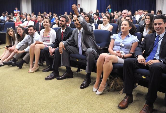 Obama Bélgica e Estados Unidos Casa Branca (Foto: Agência AFP)