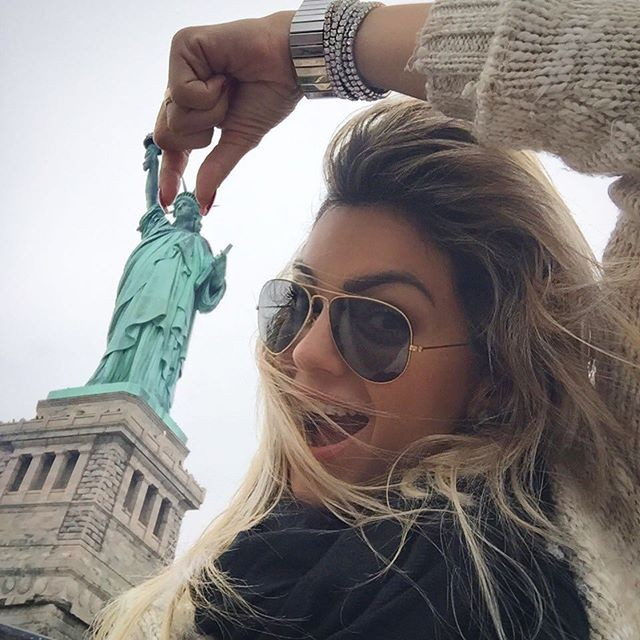 Kelly Key em NY (Foto: Reprodução)