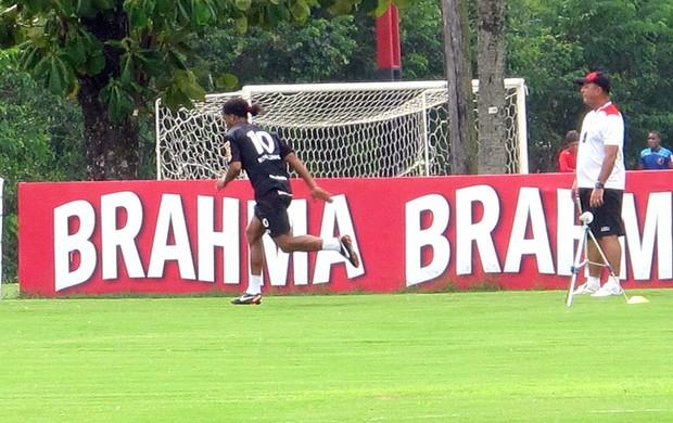 DEVO, NÃO  NEGO... (Richard Fausto de Souza / Globoesporte.com)