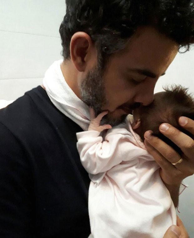 Anderson com Helena: amor de pai (Foto: Reprodução Instagram)