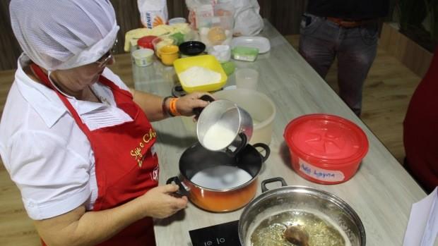 Concurso elegeu a melhor receita de cuca (Foto: Prefeitura de Brusque/Divulgação)