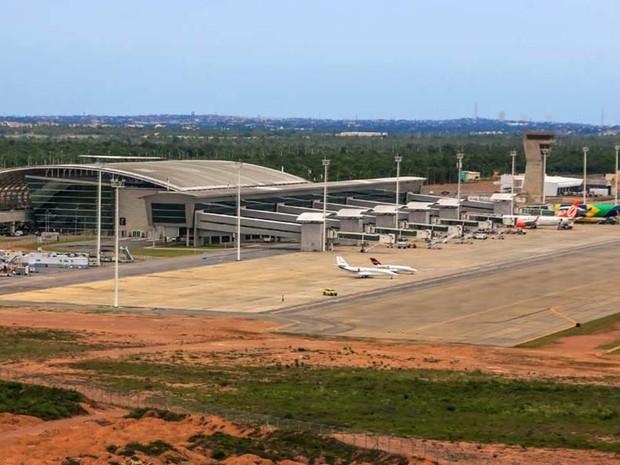 Aeroporto Internacional Aluízio Alves, em São Gonçalo do Amarante (Foto: Canindé Soares)
