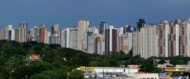 Curitiba segue como a cidade mais populosa da região sul (Foto: Jairton Conceição/RPC TV)
