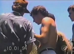 Senna pesca com amigos em sítio de Cândido Mota (Foto: Reprodução/ TV TEM)
