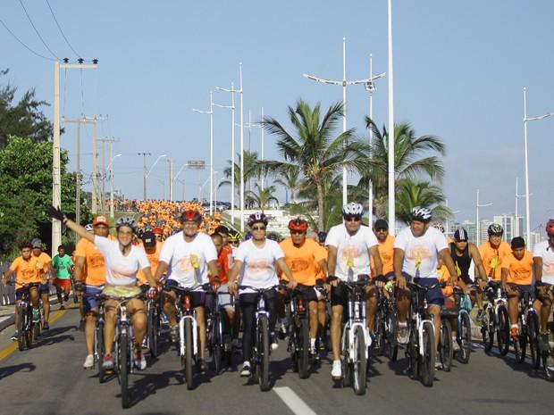 Pedala São Luís é realizado com sucesso (Foto: Flora Dolores/O Estado)