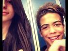 Filho de Ronaldo aparece sorridente ao lado de colega de escola