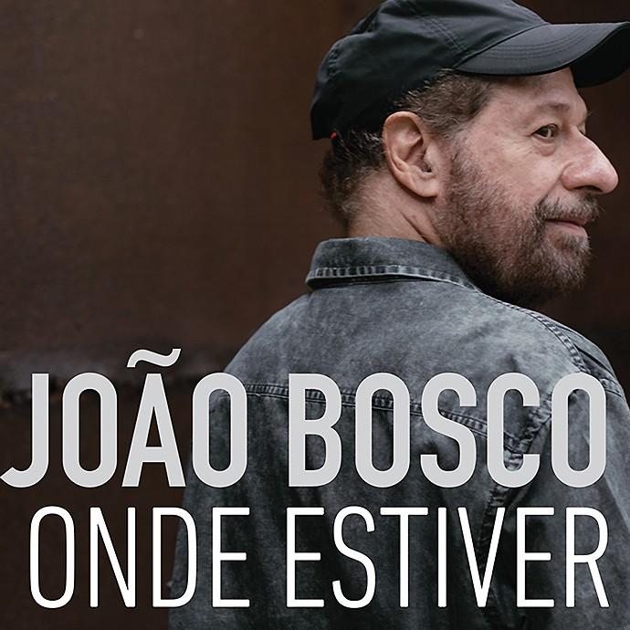 A capa do novo single de Joo Bosco, 'Onde Estiver' (Foto: Divulgao)