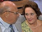 Aposentados se casam em MT após passarem mais de 50 anos separados