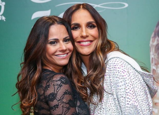 Viviane Araújo e Ivete Sangalo (Foto: Manuela Scarpa/Brazil News)