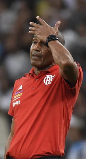 Cristóvão Borges, Flamengo x Corinthians (Foto: André Durão)