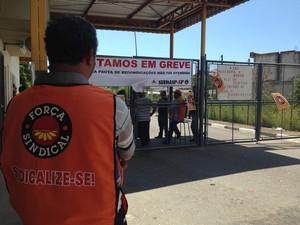 Agente penitenciário não concorda com segurança no CDP de Suzano (Foto: Carolina Paes/G1)