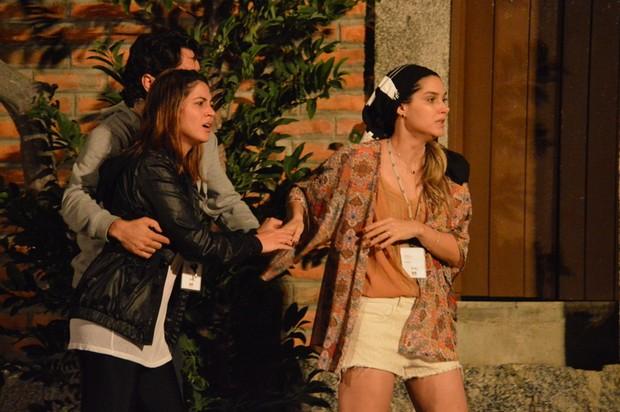 Carol Castro e Fernanda Machado (Foto: Felipe Souto Maior / AgNews)