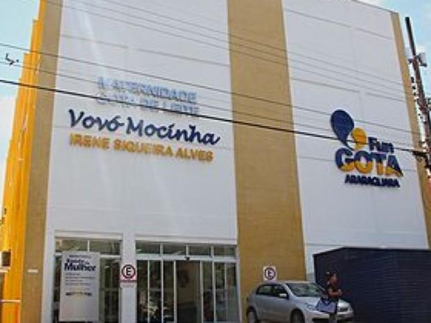 Maternidade Gota de Leite de Araraquara (Foto: Sergio Pierri/Prefeitura de Araraquara)
