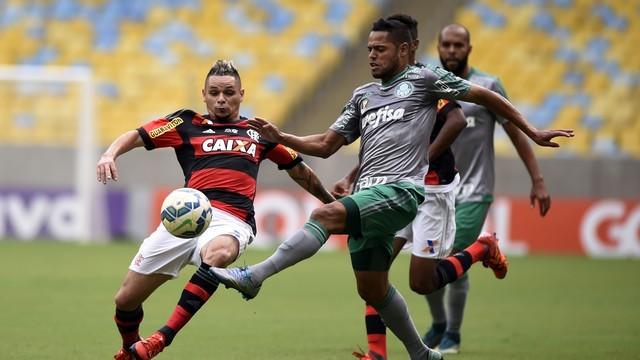 Palmeiras e Flamengo duelam nessa quarta (14) (Foto: Reprodução: Globoesporte.com)
