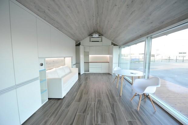 As janelas, portas e os sistemas de eletricidade encanamento, porém, precisam ser instalados por um trabalhador humano (Foto: Divulgação)