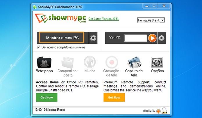 Baixe o ShowMyPC no computador (Foto: Reprodução/Barbara Mannara)