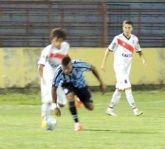 Grêmio x Paraná, Copa São Paulo 2015 (Foto: Marcos Lavezo)